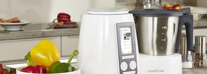 Robot da cucina supercook con 13 funzioni facile da usare - Robot da cucina che cuoce ...